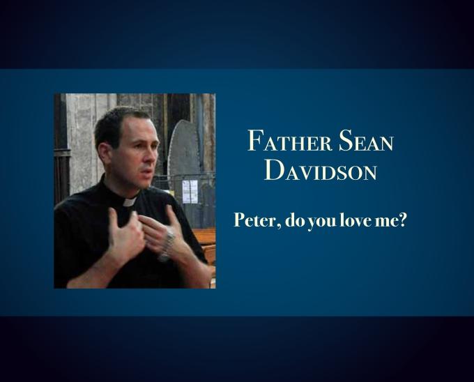 Peter, do you loveme?